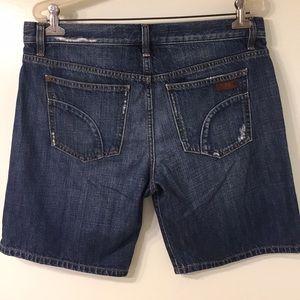 Joes jean shorts 31
